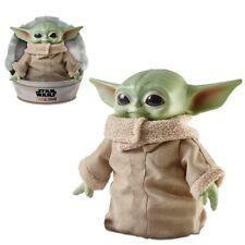 "BABY YODA Plush The Child Mandalorian Star Wars 11"" Mattel Disney NEW + IN Hand"