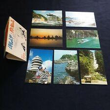 Set Of 7 Vintage Japan Postcard Land Yoshino Kumano National Park Collectible