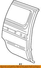 FORD OEM E-350 Econoline Club Wagon Side Panel-Front Panel Right F2UZ15279D44D
