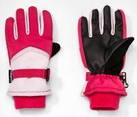 Girl Waterproof Reflective Ski Gloves 3M Thinsulate C9 Champion Select Size