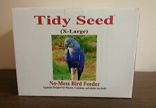 "TIDY SEED X-LARGE BIRD FEEDER - THE ORIGINAL ""NO-MESS"" BIRD FEEDER!"