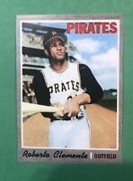 1970 Topps Reprint #350 Roberto Bob Clemente Pittsburgh Pirates Card MINT RP