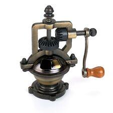 WoodRiver Antique Style Hand Crank Pepper Grinder Kit Mechanism - Antique Brass
