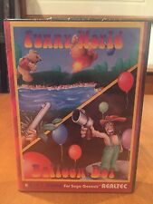 Funny World & Balloon Boy Sega Genesis Video Game by REALTEC 1993 NIB NIP