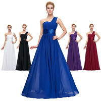 Neu Lang Abendkleid Ballkleider Cocktailkleid Partykleid Brautjungfernkleid blau