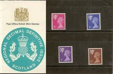 GB 1971 Scotland Definitive Pack No. 27