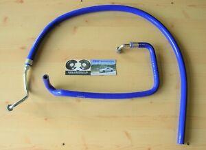 2x Wasserschlauch Turbolader *NEU* OPEL Calibra C20LET Schläuche Turbo Blau LANG