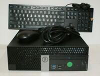 Dell OptiPlex 5050 SFF QC i5-7500 3.4GHZ 8GB RAM 500GB DVD HDMI K/B Mouse Win10