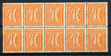 Reich 182 postfris veldeel van 10