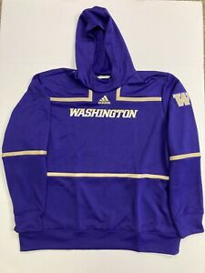 NEW Adidas Men's Washington Huskies Pullover Hoodie Sweatshirt Mens 3XL GE5731