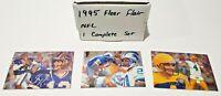 1995 Fleer Flair NFL Football Complete Set 220 Cards NRMT Favre, Sanders, McNair