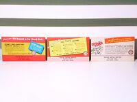Set of 5x Keller Motor Service Reminder Cards! Vintage Advertisement Cards!