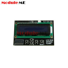 I2C IIC 16x2 RGB LCD Display Shield 1602 Blue Backlight For Raspberry Pi B+/B UK