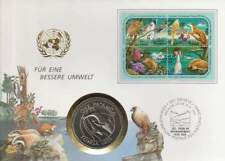 Numisbrief UN 1 paánga 1986 Tonga - WWF 25 Year (078)