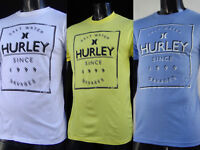 New Classic Hurley Surfing Team Salt Water Mens Slim Sport T-Shirt