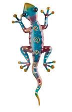 SOUTH WEST - Gecko Wall Decor -RAINBOW PURPLE - 11'' Regal Art & Gift 05520
