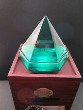 """New listing Antique Glass Maritime Deck Prism. """"Navigare Necesse est"""" = Sailing is Necessary"""
