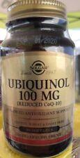 Solgar Ubiquinol Reduced CoQ-10 100mg - 50 Softgels 1/2020