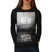 New York Down Town USA Women Long Sleeve T-shirt NEW | Wellcoda