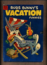 1954 Bugs Bunny's Vacation Funnies #4 VG 1st Print Dell Comics Bunny Giant Size