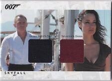 JAMES BOND AUTOGRAPHS & RELICS SCDC4 DANIEL CRAIG SEVERINE SUIT DRESS 034/200