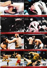 2009 Topps UFC Round 1 99 Card Set & Top 10 Fights Of 2008 & Victorious Debuts