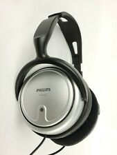 Philips SHP2500 Headphones 20 Foot Cord Volume control Tested Works