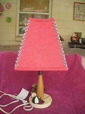 Baseball Themed Kids Table Lamp Bat Glove Ball Hat