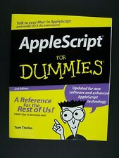 AppleScript For Dummies 2nd Edition Book
