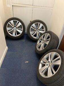 Skoda Superb 3V Zenith 18x8J 5x112 Alloy Wheels With Tyres Octavia Passat audi