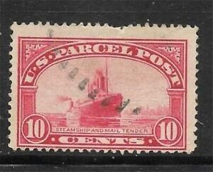 1v0151 Scott Q6 US Parcel Post Stamp 1913 10c Steamship Mail Used