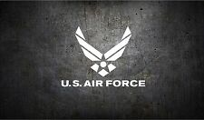 Air Force  5'' vinyl car sticker decal l buy 1 get 1 free