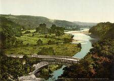 Blackwater River, Lismore, Wateford, 1890's, Vintage Irish Photography Poster