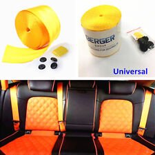 Universal Harness Racing Front 3 Point Safety Retractable Van Car Seat Lap Belts