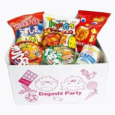 New Assorted Japanese Gift 3 Snack Food Bags and 3 Mini Cup Noodles Box Set F/S