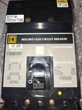 New Square D , Fa36090 , Molded Case Circuit Breaker , 90 Amp