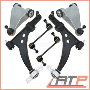 6 PARTS CONTROL ARMS WISHBONES +STABILISER LINKS FRONT LEFT RIGHT ALFA ROMEO 166
