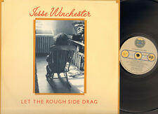 JESSE WINCHESTER Let the Rough Side Drag LP NMINT 1976