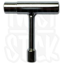 IROC - 3 Way Skateboard Pocket T-Tool - Chrome Metal - UK SELLER - FREE DELIVERY