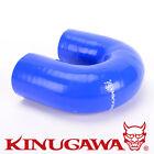"Kinugawa Turbo / Intercooler Silicon Hose 180 Degree Elbow 2.75"" / 4 Layers Blue"
