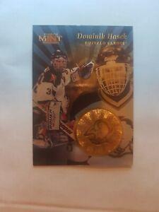 Dominik Hasek 1996-97 Pinnacle Mint Gold HOF Sabres Red Wings Blackhawks