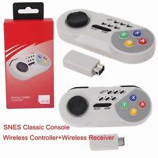 Wireless Controller Spiel Gamepad Für SNES Classic Mini Super Nintendo NES Turbo
