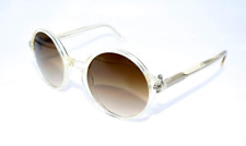Authentic Ralph Lauren Purple Label Clear Round Sunglasses PL9763-503451 *NEW*