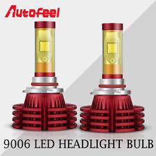 2X 9006 HB4 1800W LED Headlight Low Beam Bulb Yellow/White High Power Dual Color
