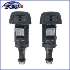BRAND NEW SET OF 2 WINDSHIELD WASHER NOZZLES FOR DODGE RAM TRUCKS CHARGER MAGNUM