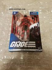 "2020 GI Joe Classified Series G.I.Joe Cobra Red Ninja 08 MIB in Hand 6"" Wave 02"