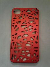 iphone 4s cell phone case - Deep Red Cover - Soft Feel
