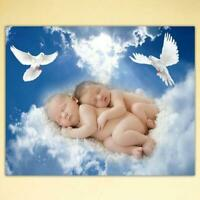 Baby Bird DIY 5D Full Drill Diamond Painting Cross Stitch Home Decoration