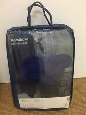 Couverture Plaid Micro Fibre couvre lit (200 x 150 cm) BLEU