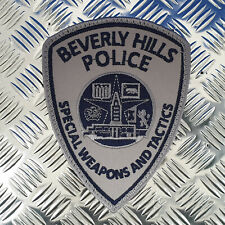 SWAT Police Patch Beverly Hills